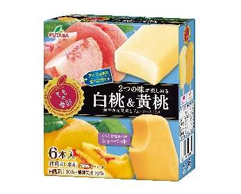 ももの季節 白桃&黄桃